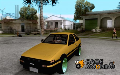 Toyota Corolla Carib AE86 for GTA San Andreas