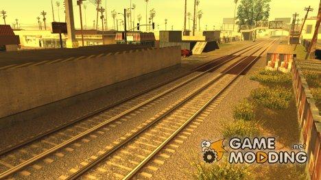 HD Рельсы 3.0 for GTA San Andreas