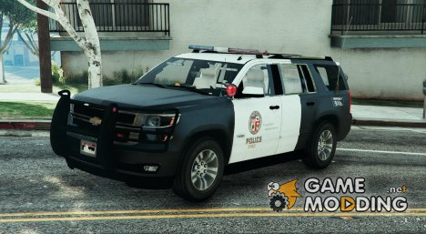 2015 Chevrolet Tahoe LAPD (Unlocked) for GTA 5