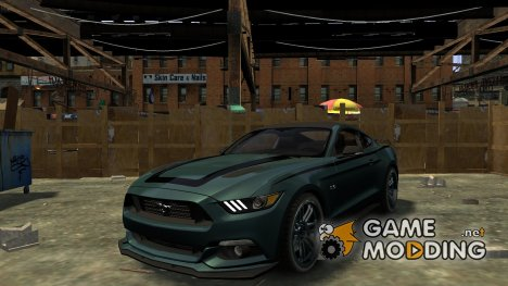 Ford Mustang GT 2015 Custom Kit black stripes для GTA 4