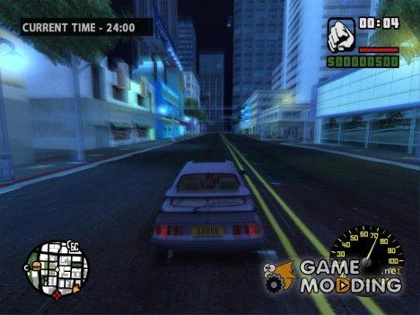 Volvo Speedometer для GTA San Andreas