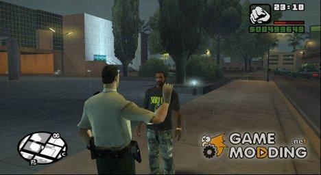 Поздороваться for GTA San Andreas