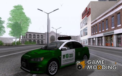 Mitsubishi Lancer De Carabineros De Chile for GTA San Andreas