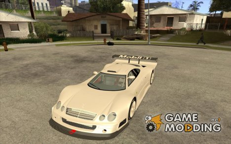 Mercedes-Benz CLK GTR Race Car для GTA San Andreas