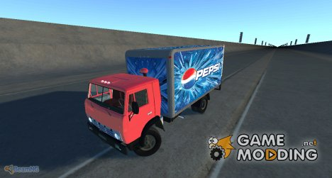 КамАЗ-5325 Pepsi for BeamNG.Drive