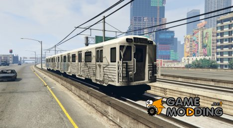 2008 Liberty City Metro Train for GTA 5