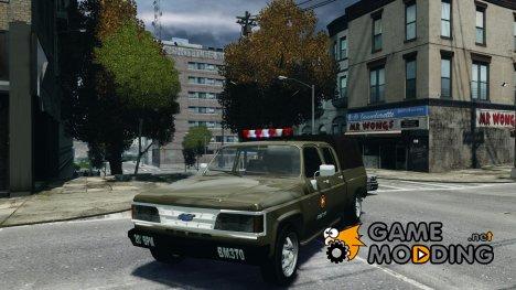 Chevrolet D20 Brigada Militar RS for GTA 4