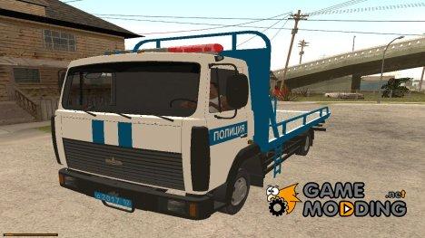 МАЗ Эвакуатор Полиция for GTA San Andreas