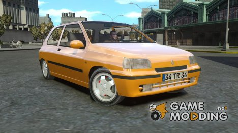 Renault Clio Williams для GTA 4
