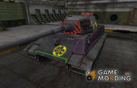 Контурные зоны пробития E-75 для World of Tanks