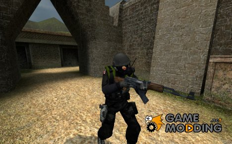 HUNK Reskin для Counter-Strike Source