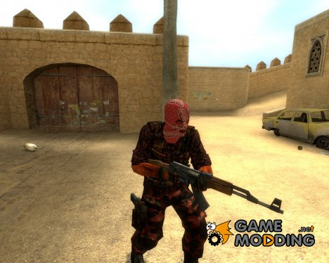 L.A Blood Terrorist for Counter-Strike Source