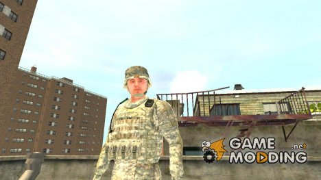 U.S. Army Soldier for GTA 4