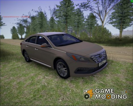 Hyundai Sonata 2015 for GTA San Andreas