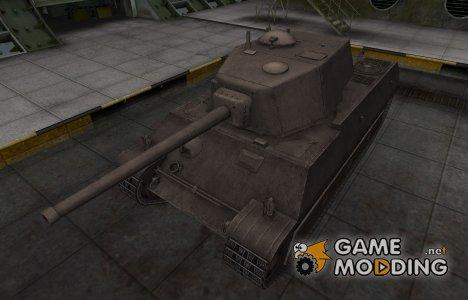 Перекрашенный французкий скин для AMX M4 mle. 45 for World of Tanks