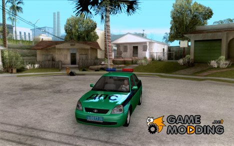 ВАЗ 2170 Приора ДПС for GTA San Andreas