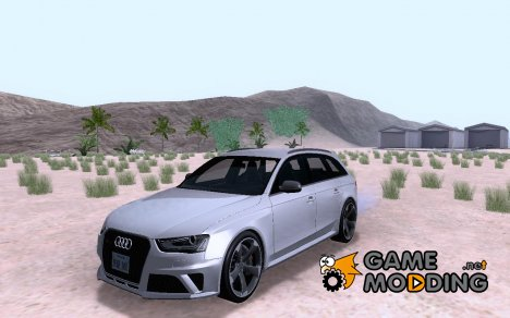 Audi RS4 Avant B8 2013 V2.0 для GTA San Andreas