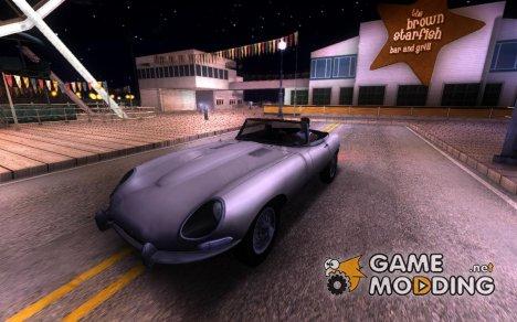 Jaguar E-Type1966 для GTA San Andreas