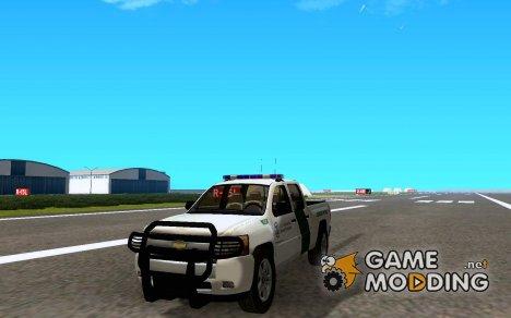 Chevrolet Silverado USBP для GTA San Andreas