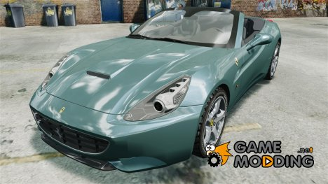 Ferrari California v1.0 для GTA 4