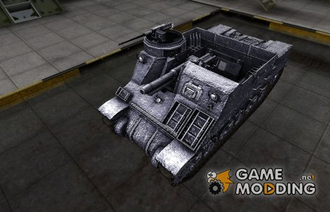 Темный скин для M7 Priest для World of Tanks