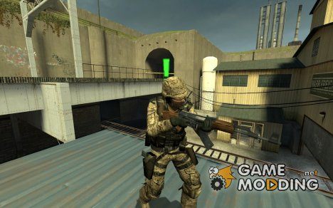 Bevill's US Soldier для Counter-Strike Source