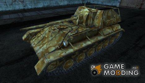 Шкурка для СУ-76 for World of Tanks