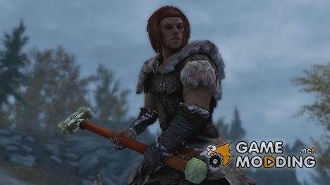 Nordic Great Hammer для TES V Skyrim