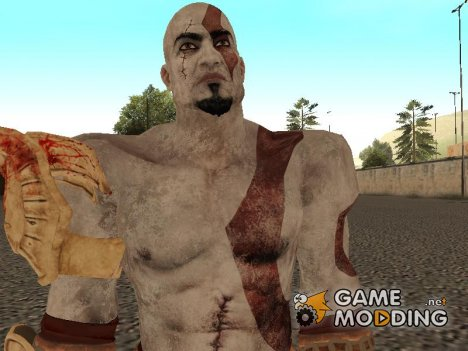 Kratos from God Of War 3 for GTA San Andreas