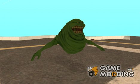 Slimer From Ghostbusters для GTA San Andreas