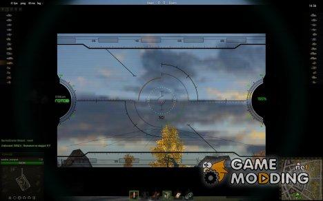 Снайперский прицел с 3D эффектом для World of Tanks