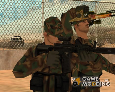 Full HQ Weapons Pack для GTA San Andreas