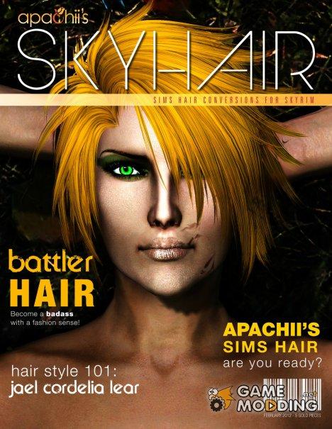 ApachiiSkyHair 1.6 для TES V Skyrim