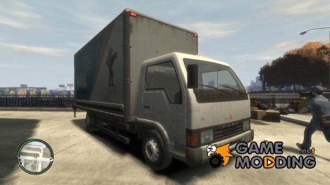 Mitsubishi Fuso Canter for GTA 4