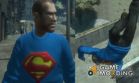 Свитер Супермэна для GTA 4
