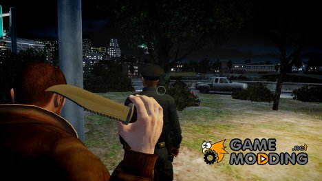 Throwing Knives для GTA 4