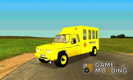 ARO 429 School bus for GTA San Andreas
