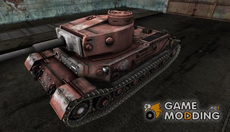 Шкурка для Pz. VI Tiger (P) for World of Tanks