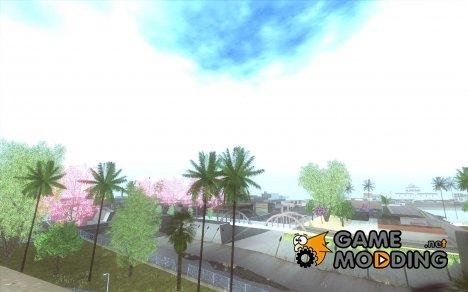 Spring Season v2 for GTA San Andreas