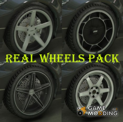 Real Wheels Pack for GTA 5