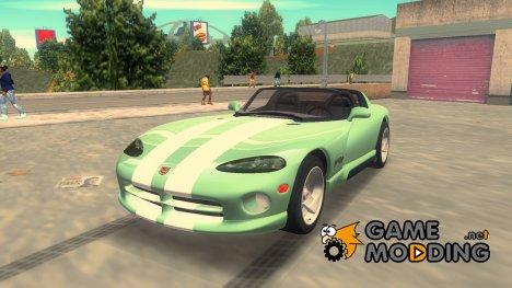 Dodge Viper RT 10 для GTA 3