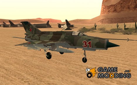 Mig 21 Fishbed FACS H for GTA San Andreas