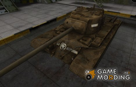 Скин в стиле C&C GDI для T32 для World of Tanks