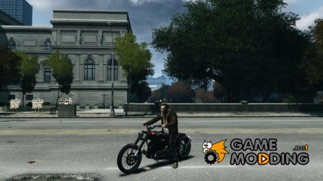 The Lost & Damned Bikes Nightblade для GTA 4