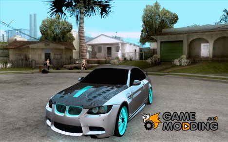 BMW M3 E92 Hellaflush v1.0 для GTA San Andreas