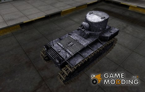 Темный скин для T1 Cunningham for World of Tanks
