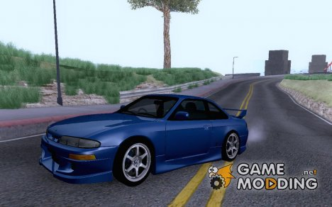 1994 Nissan Silvia S14 Ks Sporty V2 Yatogami Tohka Itasha для GTA San Andreas