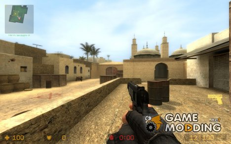 MGS3 M1911A1 *FIXED* для Counter-Strike Source