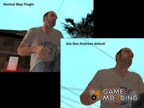 Normal Map Plugin для GTA San Andreas