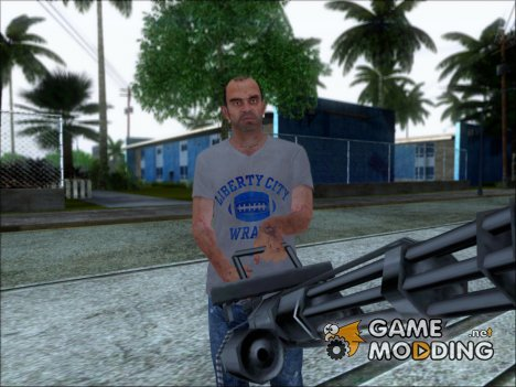 (GTA V) Trevor with Normal Map для GTA San Andreas